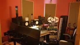 Music production / rehearsal room for band or producer monthly hire BN41