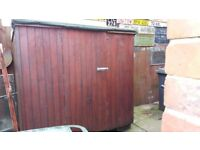 Non sectional wooden shed for sale