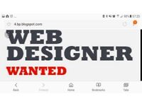 Web designer wanted to help on wordpress projects
