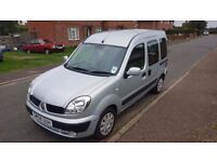 Renault Kangoo Expression 1.6 Petrol Automatic Motability Wheelchair with ramp & winch