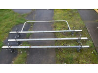 Fiat Scudo Roof Rack 3 Bars + Rear Roller