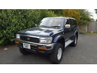 1994 TOYOTA HILUX SURF 3.0 DIESEL AUTO 4X4 OFF ROAD GREAT CAR IN GOOD CONDITION CHEAP CAR BARGAIN