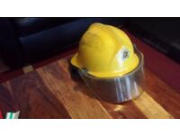 firemans helmet, totally original nottinghamshire firemans helmet