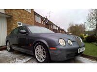 Jaguar S Type 2.7td SE S-Type auto metallic Grey dab bluetooth sat nav good service history for sale  Horsham, West Sussex