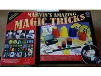 Marvin's amazing magic tricks the deluxe edition 225 magic tricks