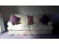 "Tetrad Havana Grand Sofa & Havana Armchair in Jacobean ""Natural"""
