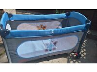 Cot or bed for a baby