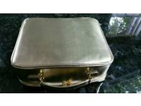 Gold Case / Toiletry Bag