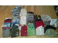Baby boy clothing bundle age 9-12m