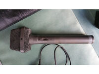 Audio Technica AT822 - XLR - Stereo professional microphone with accessories