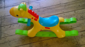 Fisher Price Rocking Giraffe for Babies/Toddlers