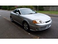 Hyundai Coupe 1.6L, 12 months MOT, Smooth drive cheap to insure and lots of papework