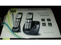 Digital phones with answering machines £12 & £20 each.