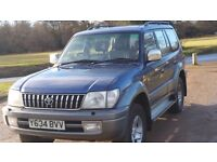 Toyota LAND CRUISER COLORADO VX Top of the range D4D Engine Auto 2001 Y, Very Good condition