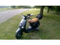 Vespa 125cc Scooter New Mot