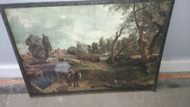 John constable print picture frame