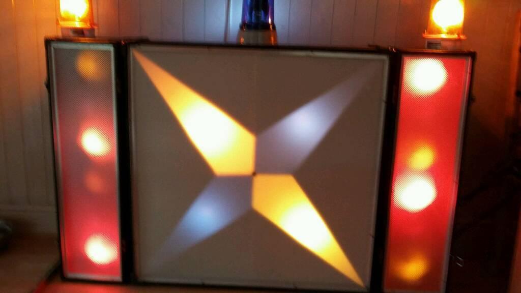 Retro disco lights | in Sutton-on-Sea, Lincolnshire | Gumtree