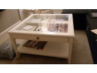 Coffee table (ikea LIATORP coffee table with original sale price £165)