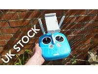 Blue Silicon Case Cover Skin For DJI Phantom 3 4 Inspire 1 Remote Controller