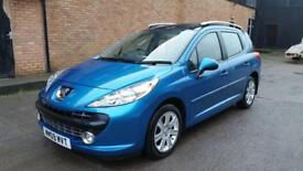2009 Peugeot 207 estate 1.6 hdi £30 road tax