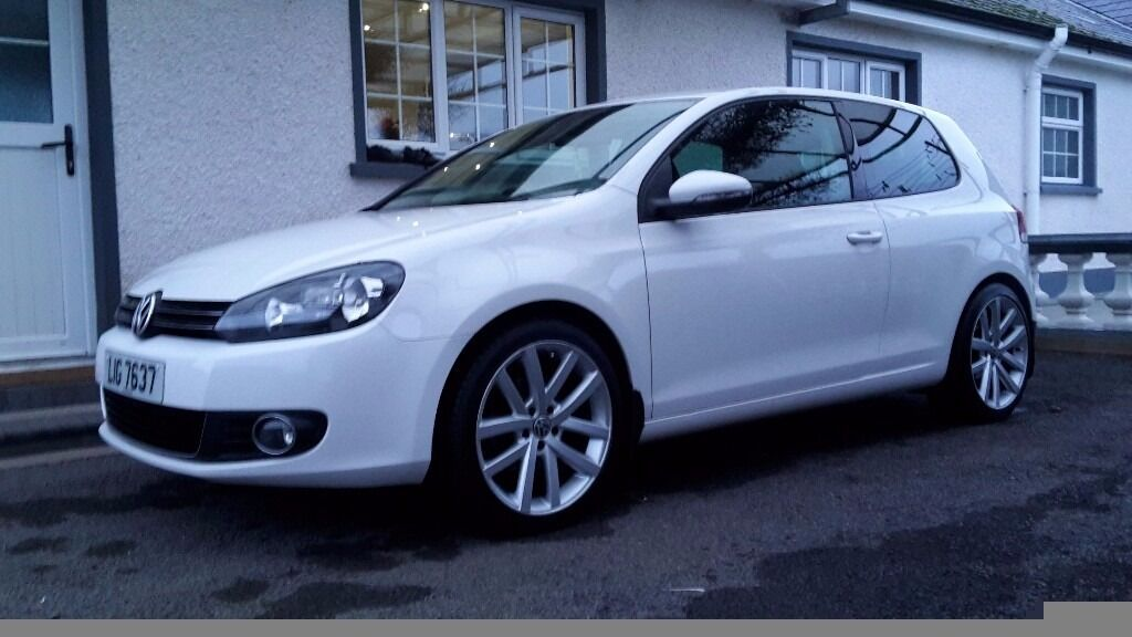 2010 volkswagen golf gt tdi 140 3 door white in omagh county tyrone gumtree. Black Bedroom Furniture Sets. Home Design Ideas
