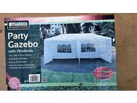 Brand New Party Gazebo with Windows 3m x 6m