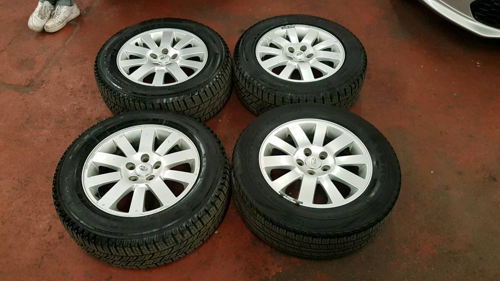 GENUINE LAND ROVER DISCOVERY 18 INCH ALLOY WHEELS 5X120 VW T5 HSE SE