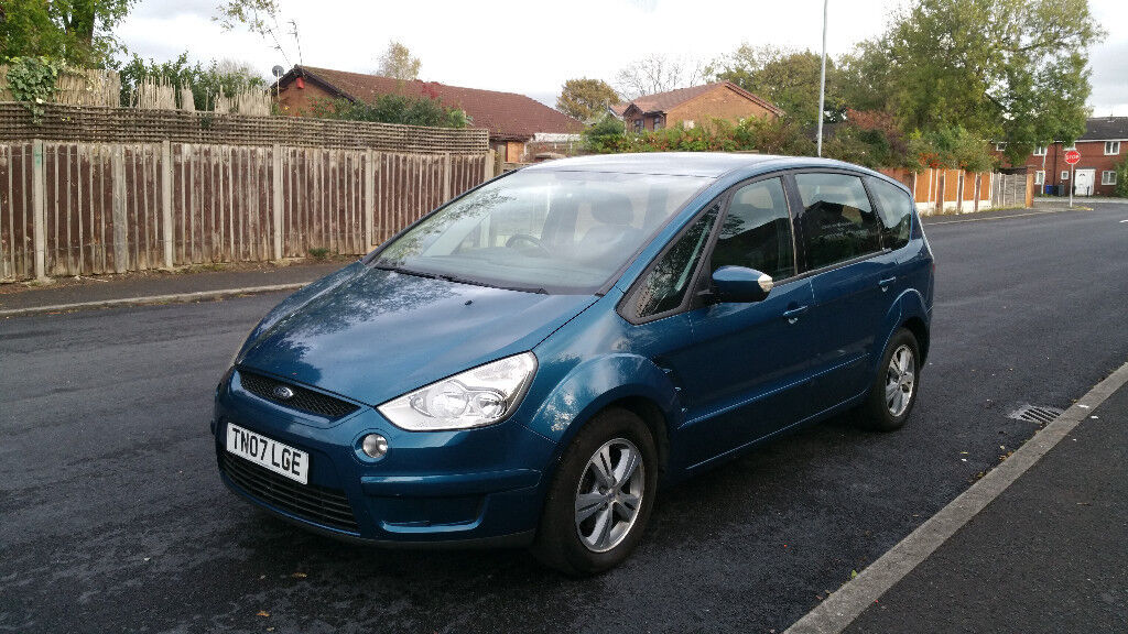 2007 Ford S MAX 1.8 Diesel Tdci Zetec nice 7 seater family car