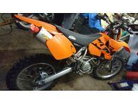Ktm 525 exec 2003 excellent condition .12 mot .