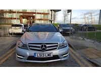 2013 Mercedes-Benz C Class 2.1 C220 CDI BlueEFFICIENCY AMG Sport Plus 7G-Tronic Plus 2dr (COMAND)