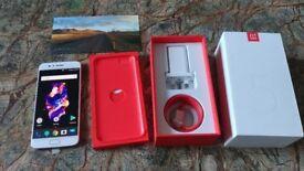 OnePlus 5 - 64GB - 6GB RAM - Soft Gold (Unlocked) Smartphone VERY RARE - MINT