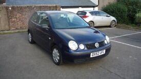 image for Volkswagen, POLO, Hatchback, 2002, Manual, 1198 (cc), 3 doors