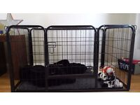 Large puppy dog playpen crate