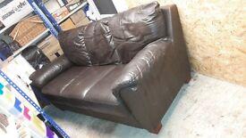 Harveys 3 Seater Leather Sofa