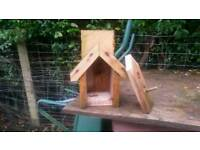 Heavy duty bird box with removable front