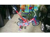 """10"""" kids bike"""