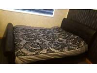 King saiz bed and mattress memory