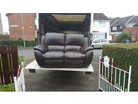 2 seater reclining sofa in good condition £85