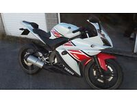 Yamaha YZF R 125 - Low miles - 50th aniversary edition - imaculate condition