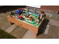 Train Table / Wooden Train Set