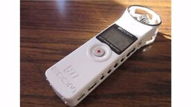 Zoom H1 Handy Recorder (White) good as new