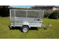 NEW TRAILER - 7,7FT X 4,2FT MESH SIDES TRAILER £970 inc vat