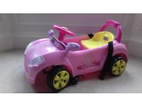 Peppa Pig electric car