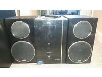 JVC hifi/cd player/ipod dock/USB/