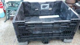 collapsable pallet box