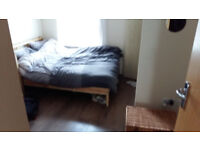 En-suite double room in furnished two-bed flat - Easter Road (ish) £400 inc. council tax, bills ~£55