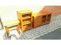 Stylish wooden furniture
