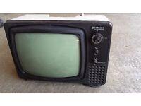 Vintage Hitachi Black&white Television