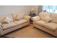 Laura Ashley Sofas - good condition - 1 Three-Seater and 1 Two-Seater