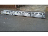 Triple Extension Ladders 10.2 meters. New